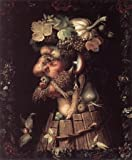 """Art, Oil painting reproduction size 24x36 Inch, painting name: Autumn, By Arcimboldo Giuseppe """