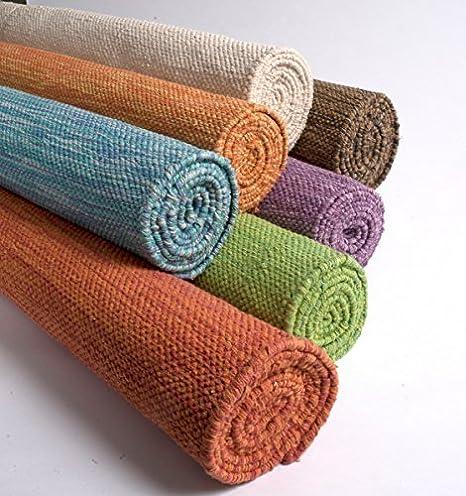 Yogasana Esterilla de Yoga Hecha a Mano de algodón de 72 ...