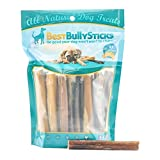 Best Bully Sticks 100% Natural 4-inch Bully Sticks by (8oz. Bag)