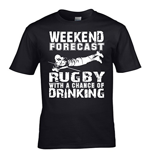 Weekend Rugby Forecast Mens T-Shirt