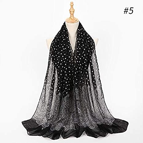 Ethnic Style Scarf WomenS Chiffon Vintage Jacquard Soft Long Scarves Embroidery Shawl Elegant Scarf For Ladies A at Amazon Womens Clothing store: