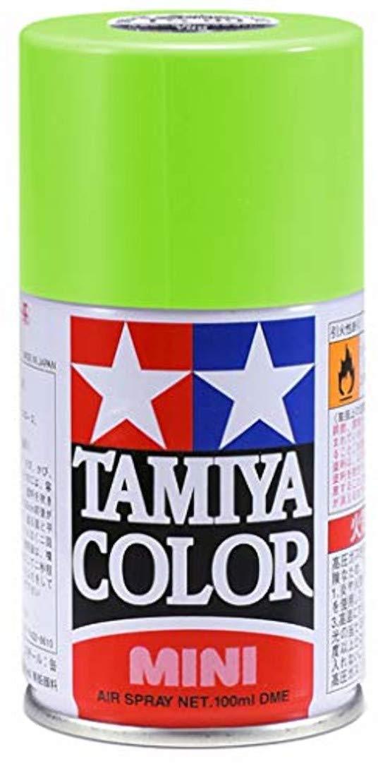 Tamiya 85022 Lacquer Spray Paint, TS-22 Light Green - 100ml Spray Can