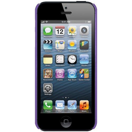 Amzer Hartschale für iPhone5 (zum Aufstecken) Violett