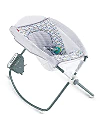 Fisher-Price Auto Rock 'n Play Sleeper, Aqua Stone BOBEBE Online Baby Store From New York to Miami and Los Angeles
