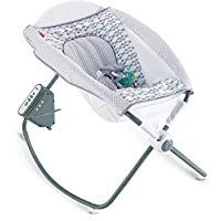 Fisher-Price Auto Rock 'n Play Sleeper, Aqua Stone
