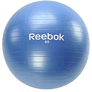 Reebok Workout Exercise & Fitness Yoga Core Swiss Elements Gymball Blue 65cm