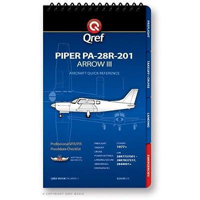 Piper Arrow III PA-28R-201 Qref Book