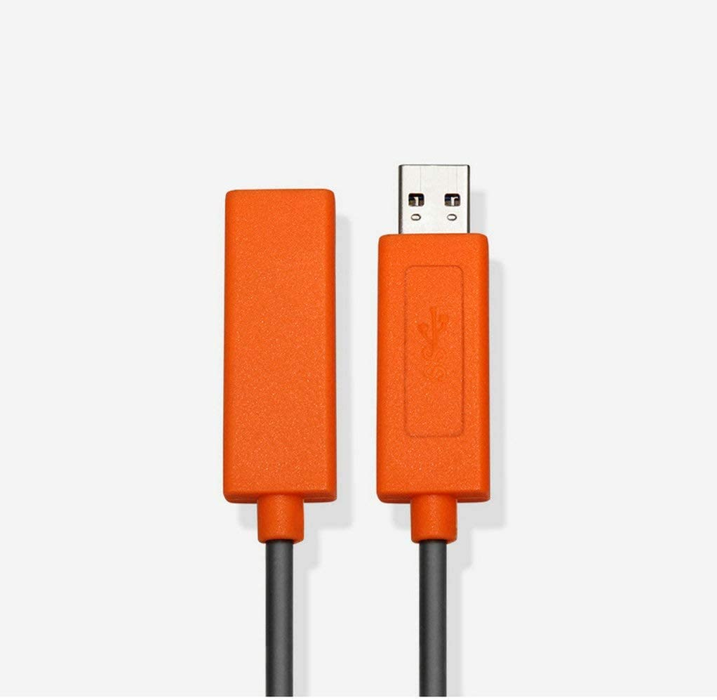 High Speed 5Gbps Data Transfer Card Reader Xbox Jeirdus 5ft USB 3.0 AOC Fiber Optic Cable Cord A-Male to A-Female Active Extension Jumper Use with Play Station Hard Drive Printer