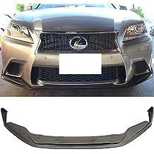 Front Bumper Lip Fits 2013-2015 Lexus F Sport GS350 450   SK Style Black PU Front Lip Finisher Under Chin Spoiler Add On by IKON MOTORSPORTS   2014