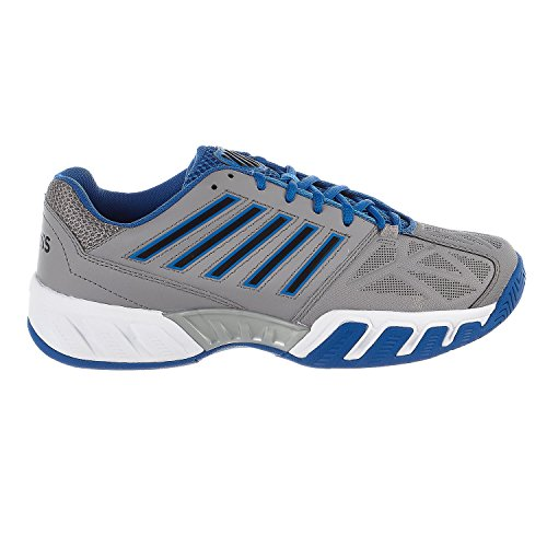 K-Swiss Bigshot Light 3 Tennis Shoe - Grey/Blue - Mens - - 3 Game Shoe Tennis