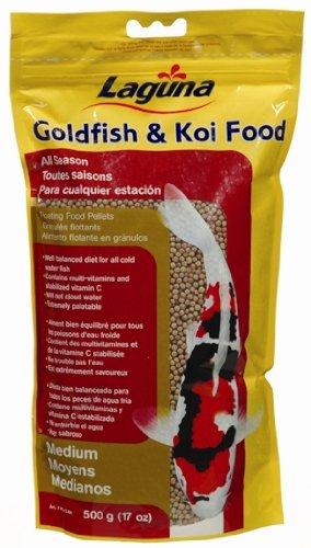 Laguna Goldfish and Koi Floating Food, Medium Pellet – 2.2 Pounds, My Pet Supplies