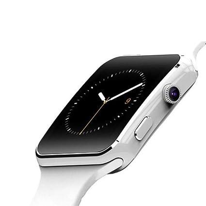 ZHAOHAONB Reloj Inteligente X6 Smart Watch Bluetooth ...