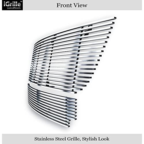 Fits 03-06 Ford Expedition 304 Stainless Steel Billet Grille Combo