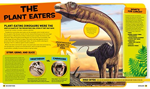 National Geographic Kids Everything Dinosaurs: Chomp on Tons of Earthshaking Facts and Fun by imusti (Image #4)
