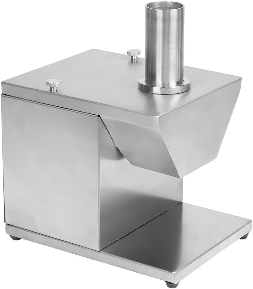 Máquina para hacer salchichas eléctrica, cortadora de salchichas de acero inoxidable ajustable de 135 W de espesor, cortadora de queso fácil de limpiar, cortadora de alimentos para cocina, hotel