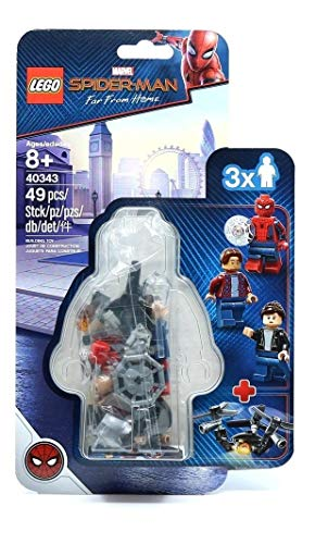 LEGO Spider-Man Far from Home Set #40343: Spider-Man and The Museum Break-in