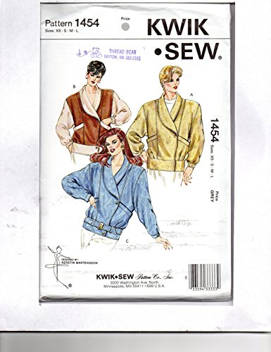Kwik Sew Pattern 1454 Misses' Jacket Sizes XS - L