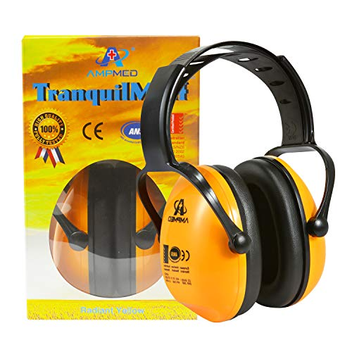 - Hearing Protection Earmuff/Headphone for Toddlers, Kids, Teens, and Adults. Amplim Noise Cancelling Headphones, Earmuffs for Kids Ear Defenders - Airplane/Concert/Outdoor/Lawn Mower - Radiant