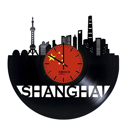 shanghai-china-handmade-vinyl-record-wall-clock-get-unique-bedroom-wall-decor-gift-ideas-for-parents