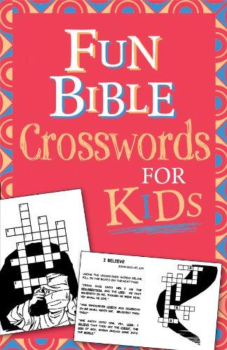Fun Bible Crosswords for Kids