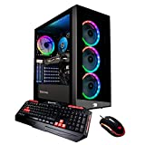 iBUYPOWER Gaming PC Computer Desktop Element 9260 (Intel Core i7-9700F 3.0GHz, NVIDIA GeForce GTX 1660 Ti 6GB, 16GB DDR4, 240GB SSD, 1TB HDD, WiFi & Win 10 Home) Black