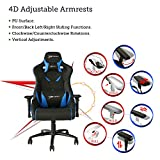[Large Size]E-WIN Gaming Chair 450 LB Racing Style Computer Chair 4D Armrest With Headrest and Lumbar Support Ergonomic Designs