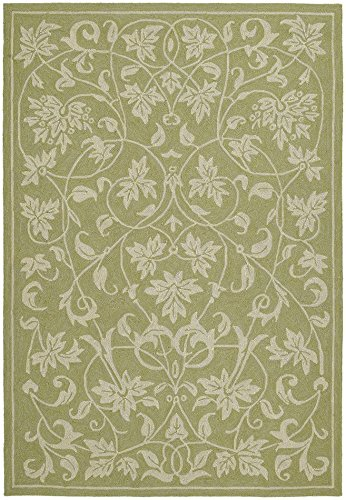 - Home and Porch Presley Celery Outdoor Rug Size: 9' x 12'