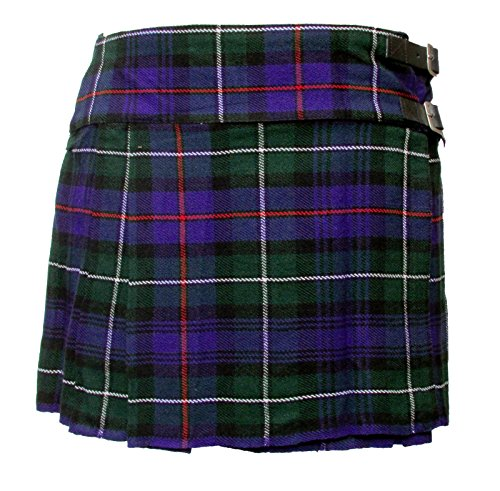 Mackenzie Damen-Minirock 35,6 cm mit Schottenmuster, Kilt Schottisch