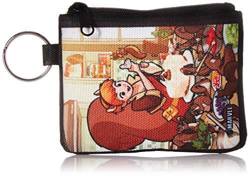 Buckle-Down Junior's Canvas Coin Purse Squirrel Girl, Multicolor, 4.25