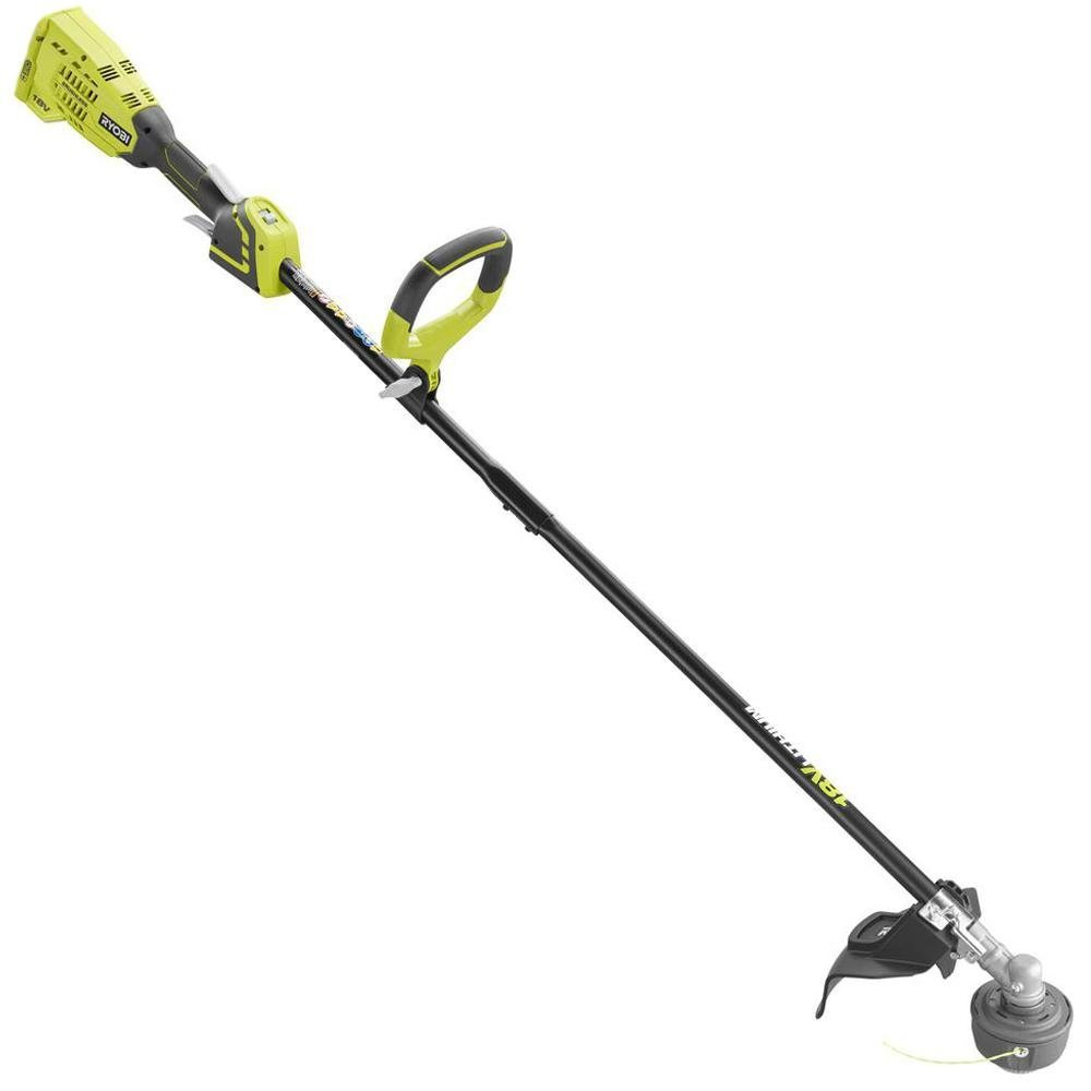 Ryobi ONE+ 18-Volt Lithium-Ion Brushless Cordless Electric String Trimmer Battery and Charger Not Included. P2009A (Certified Refurbished)