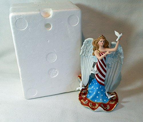 Antiquity Accent Lenox (Lenox God Bless America Angel Figurine Nib/coa)