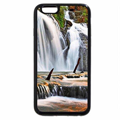 iPhone 6S Case, iPhone 6 Case (Black & White) - Navajo Falls, Arizona