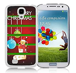 diy phone casePopular Sell Samsung S4 TPU Protective Skin Cover Merry Christmas White Samsung Galaxy S4 i9500 Case 1diy phone case1