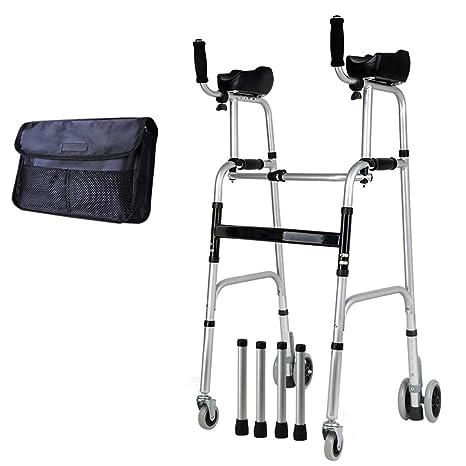 HYXQY-ZY Andador   Andador Plegable para Ancianos ...