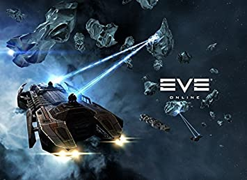 : Qinuo 19x14 inch Eve Online Silk Poster 8GSF 3AB