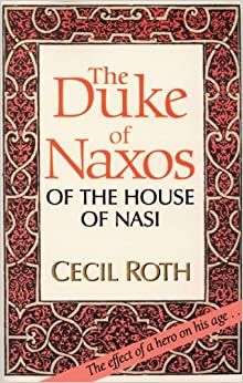 Book The Duke of Naxos of the House of Nasi