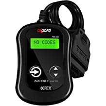 OBD2 Scanner OBDII Code Reader - Scan Tool for Check Engine Light - MS300 Universal Diagnostic for Car, SUV, Truck and Van