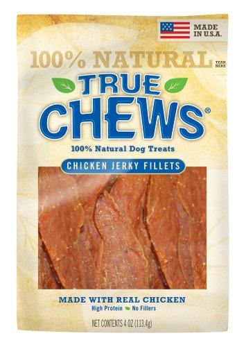 True Chews Lils Chicken Jerky Bites Original, 4-Ounce (Pack of 5), My Pet Supplies