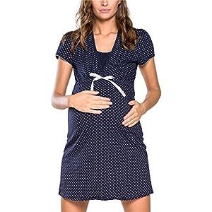 Italian Fashion IF Camicia da Notte Premaman J4J 0114