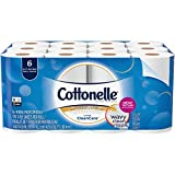 Cottonelle Ultra Clean Care Toilet Paper Bath Tissue, 24 Roll - Septic Safe