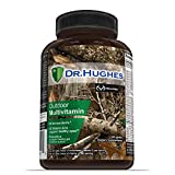 Realtree Daily Multivitamin by Dr Hughes | Antioxidant: Vitamin C (5X) and Vitamin E (2X) | Energy: Vitamin B12 B6 | Eye Health: Vitamin A (2X) | Probiotic | Vitamin D (D3 | NSF Certified | 60 Tablets
