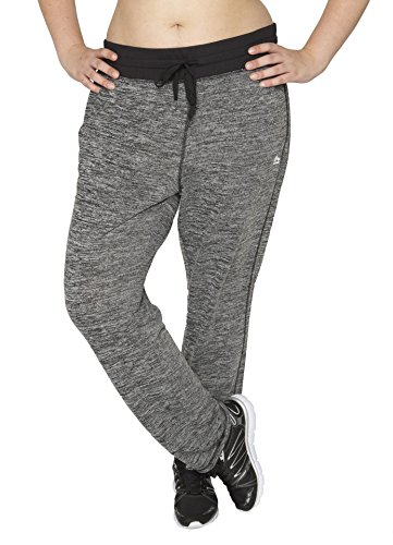 RBX Active Women's Plus Size Relaxed Knit Sweatpants