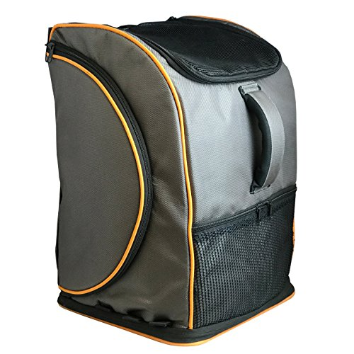 Luxury Lambo Pet Carrier Backpack - Airline Approved - All-In-One Pet Carrier and Pet Kennel for Cats and Small Dogs by Pet Magasin