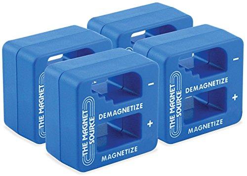 Master Magnetics 07524X4 Screwdriver Nut Driver Magnetizer Demagnetizer, Fits Up to 0.5625