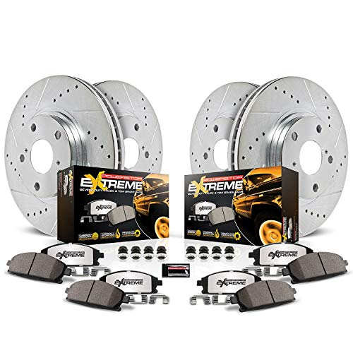 Power Stop K2798-36 Z36 Truck & Tow Front and Rear Brake Kit