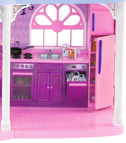 Jual Barbie Pink 3 Story Dream Townhouse Dolls Weshop Indonesia
