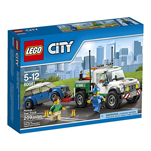 Legos for 5 year old boys make good gifts - LEGO City Great Vehicles Pickup Tow Truck