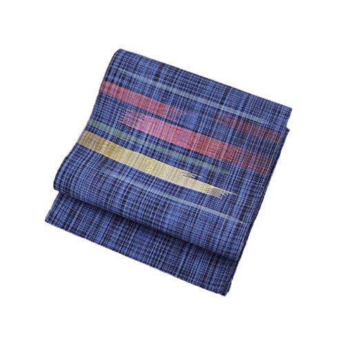 無謀眼後継正絹帯 正絹すくい織り八寸袋名古屋帯 仕立て上がり 小紋 紬用 レディース