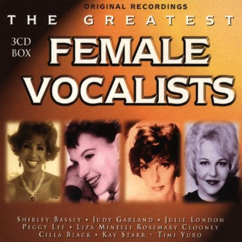 Greatest Female Vocalists (Female Artists Cd)