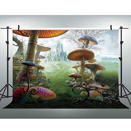 VVM 7x5ft Photography Backdrop Fairy Tale Castle Photo